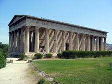 Le temple Theseion