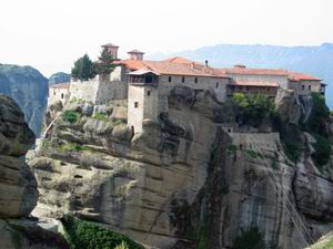 Monastere Grand Meteore (metamorphossis)