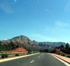 Route #89A vers Sedona